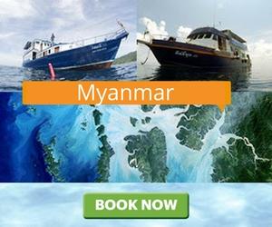 Дайв-сафари Myanmar