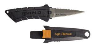 Подводный нож из титана