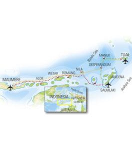 Alor island. Liveaboard Indonesia.