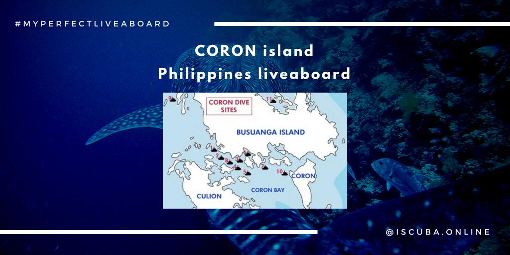 Philippines. Coron island liveaboard