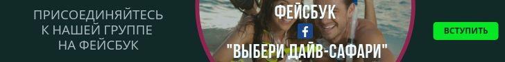 """Вступить в группу фейсбук """"Выбери дайв-сафари"""""""